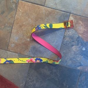 kate spade floral belt